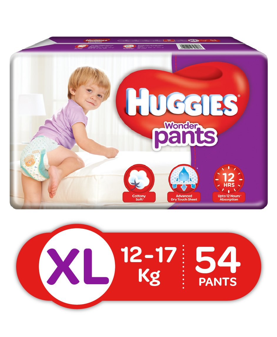 Huggies Wonder Pants Extra Large Pant Style Diapers 54 Pieces Online Mamypoko L 28 Select Size