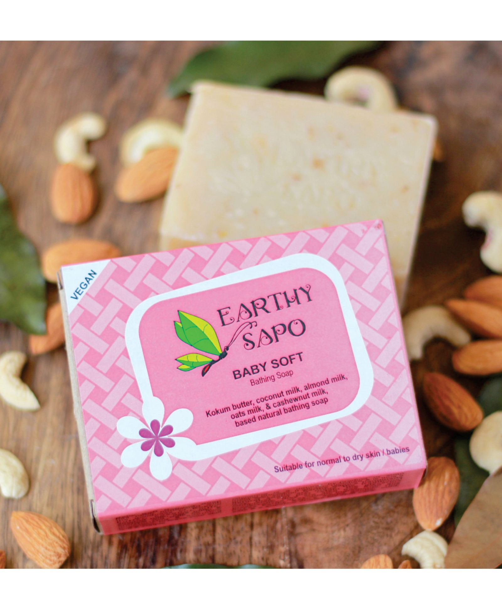 Earthy Sapo Baby Soft Bathing Soap 100 gm Online in India, Buy at ...