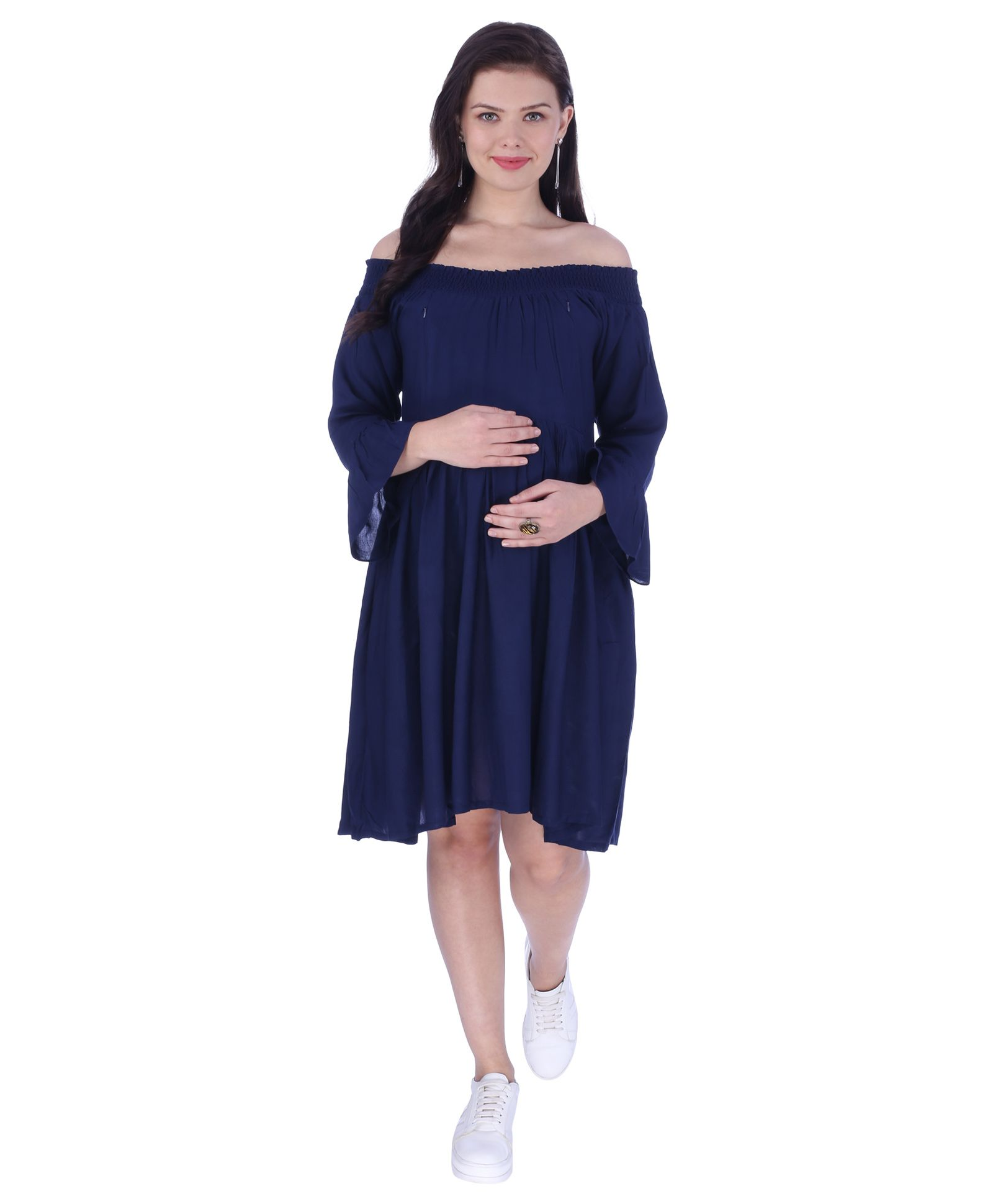 Off the Shoulder Maternity Dresses