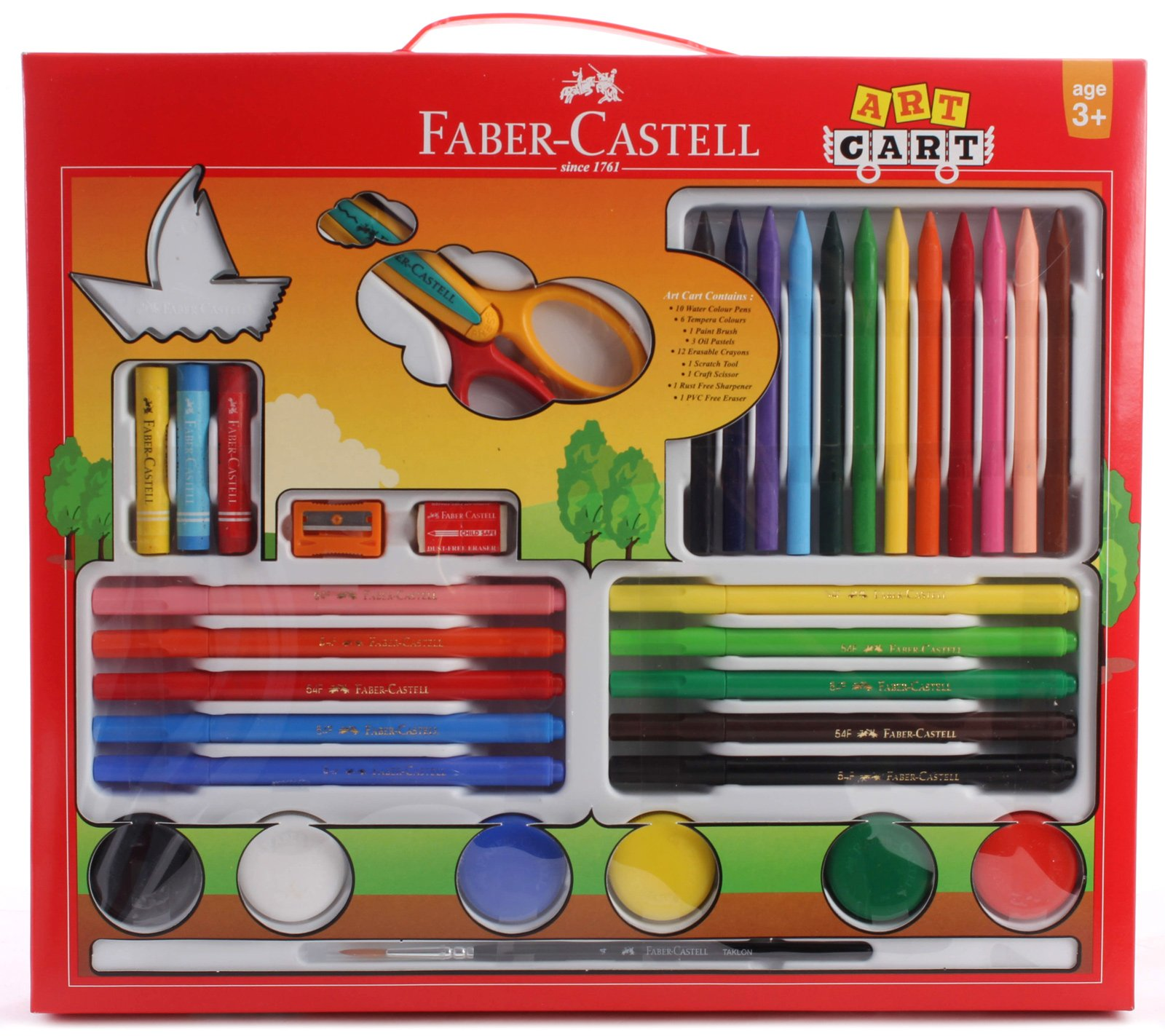 Faber Castell Art Cart Gift Set (Color May Vary) Online in India ...