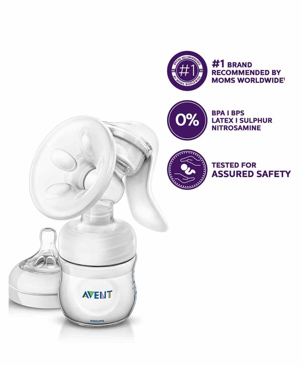 Avent Comfort Manual Breast Pump Online In India Buy At Best Price Philips New Natural Skin Soft Nipple 2 Pack Medium Flow 3m Small Of 20924 Per Diaper