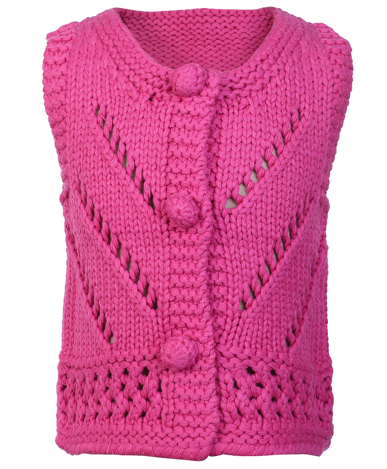 Handmade Woolen Sweaters For Girls
