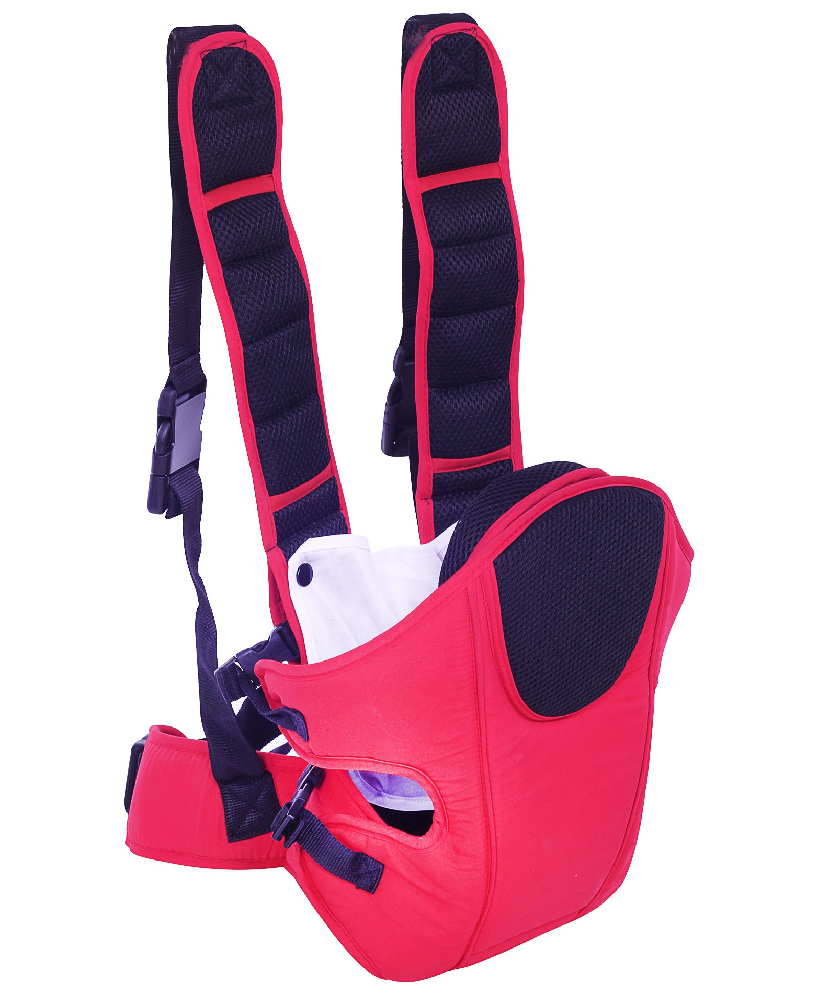 3 in 1 Baby Carrier Red And Black - CA-5011