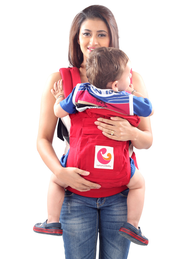 Nahshon 3 Way Baby Carrier Radical - Red