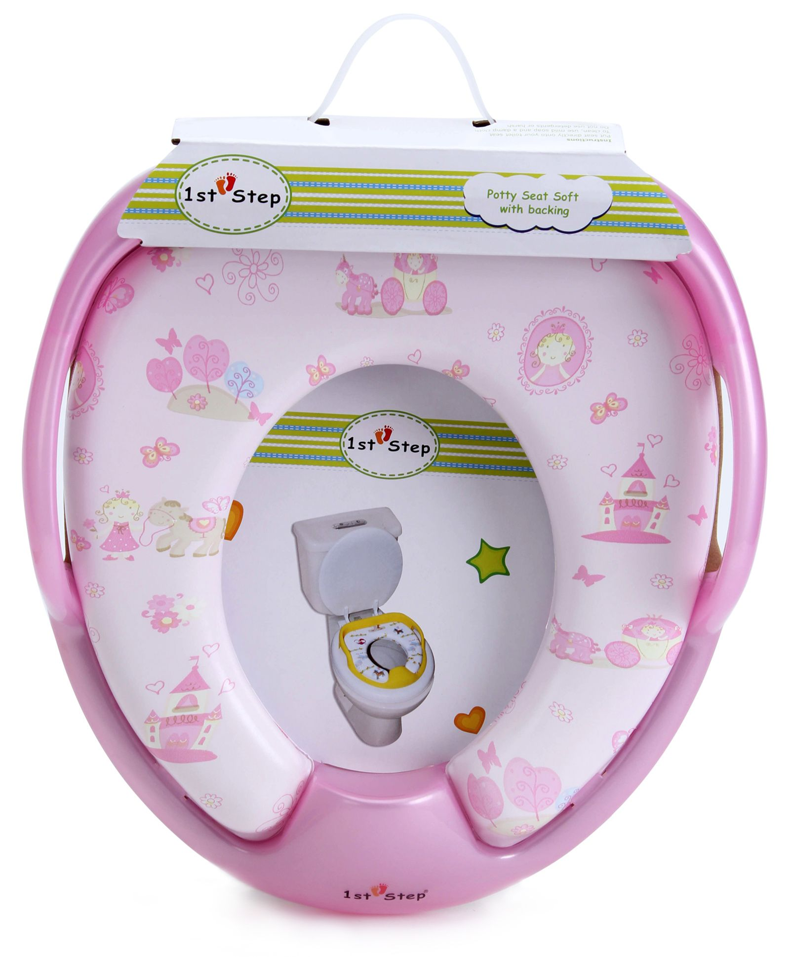 1st Step Baby Cushion Potty Seat - Pink