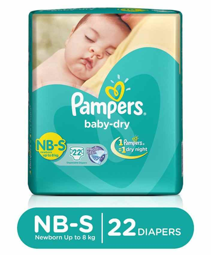 New Born Extra Small Xs Baby Diapers Online Buy At Merries 24 S Pampers Dry Newborn To 22 Pieces