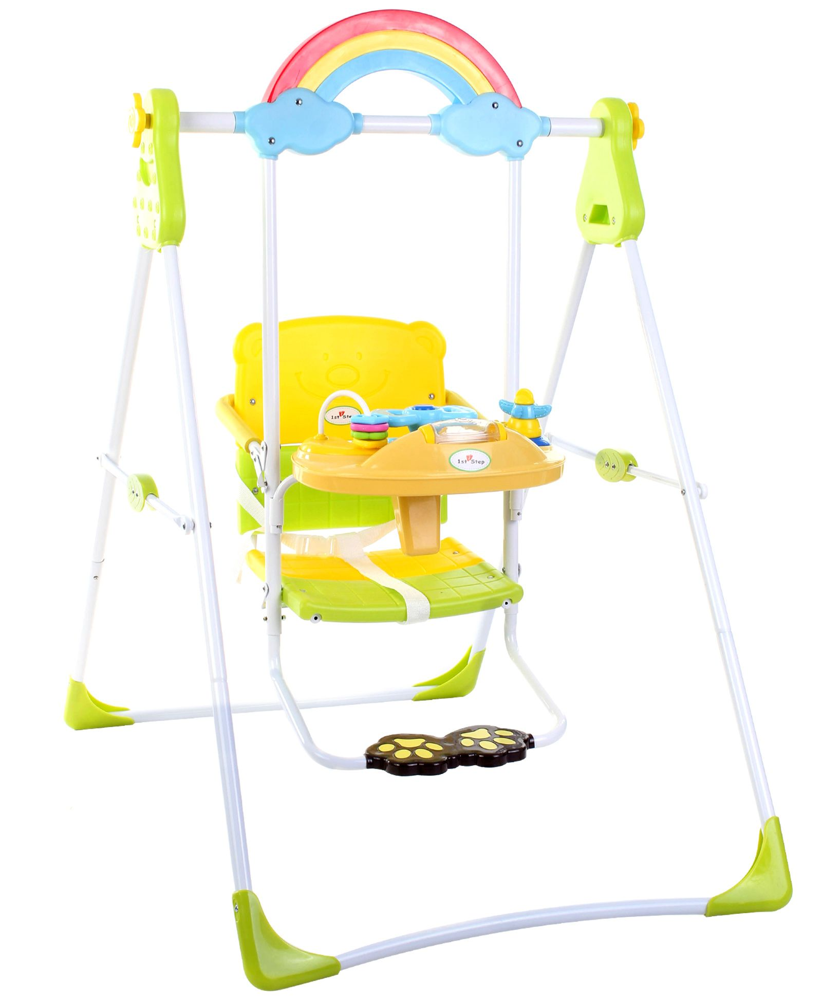 1st Step Swing With Music - Green And Yellow