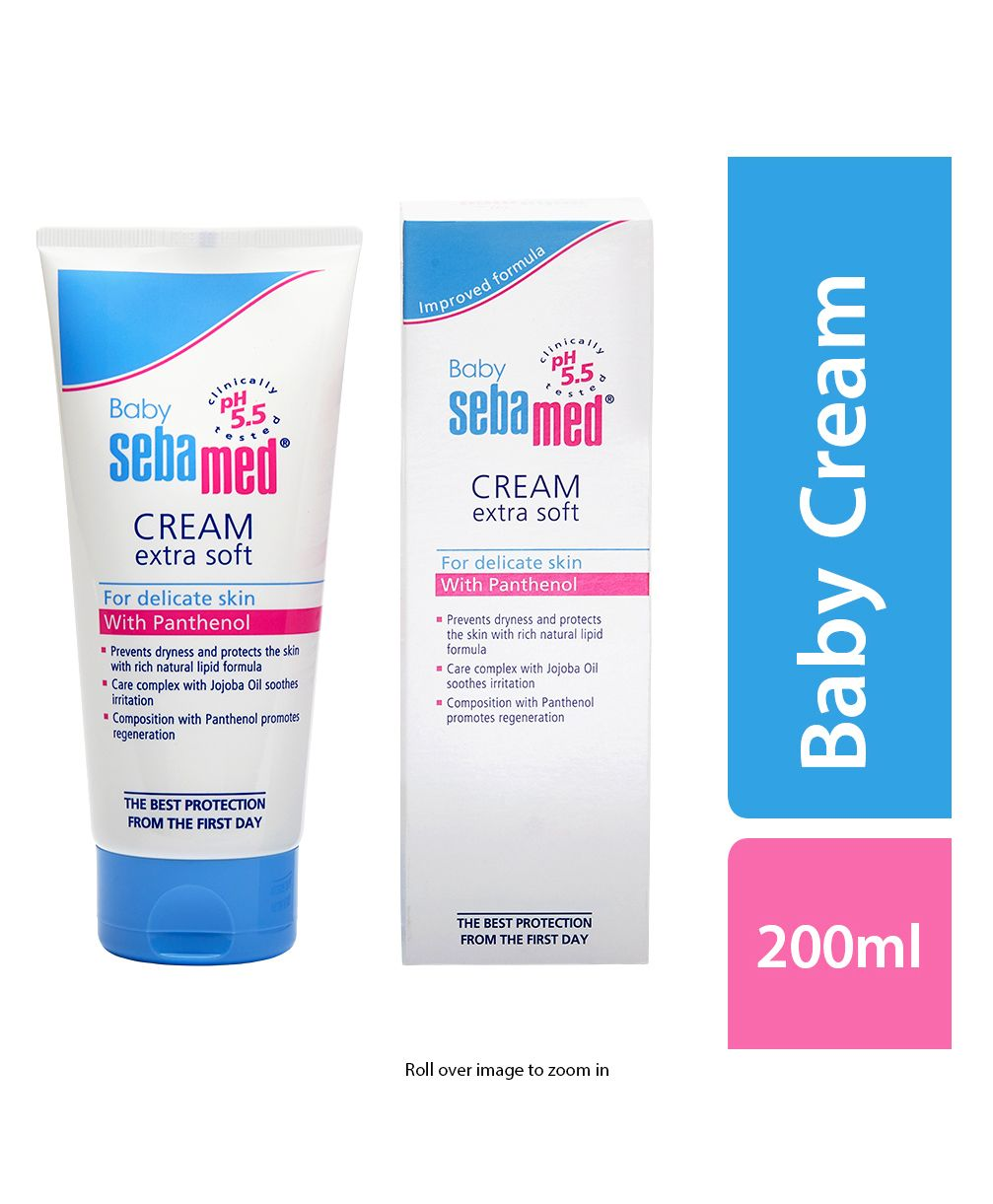 Sebamed Baby Cream Extra Soft 200 Ml Online In India Buy At Best Care 100ml Price From 48206