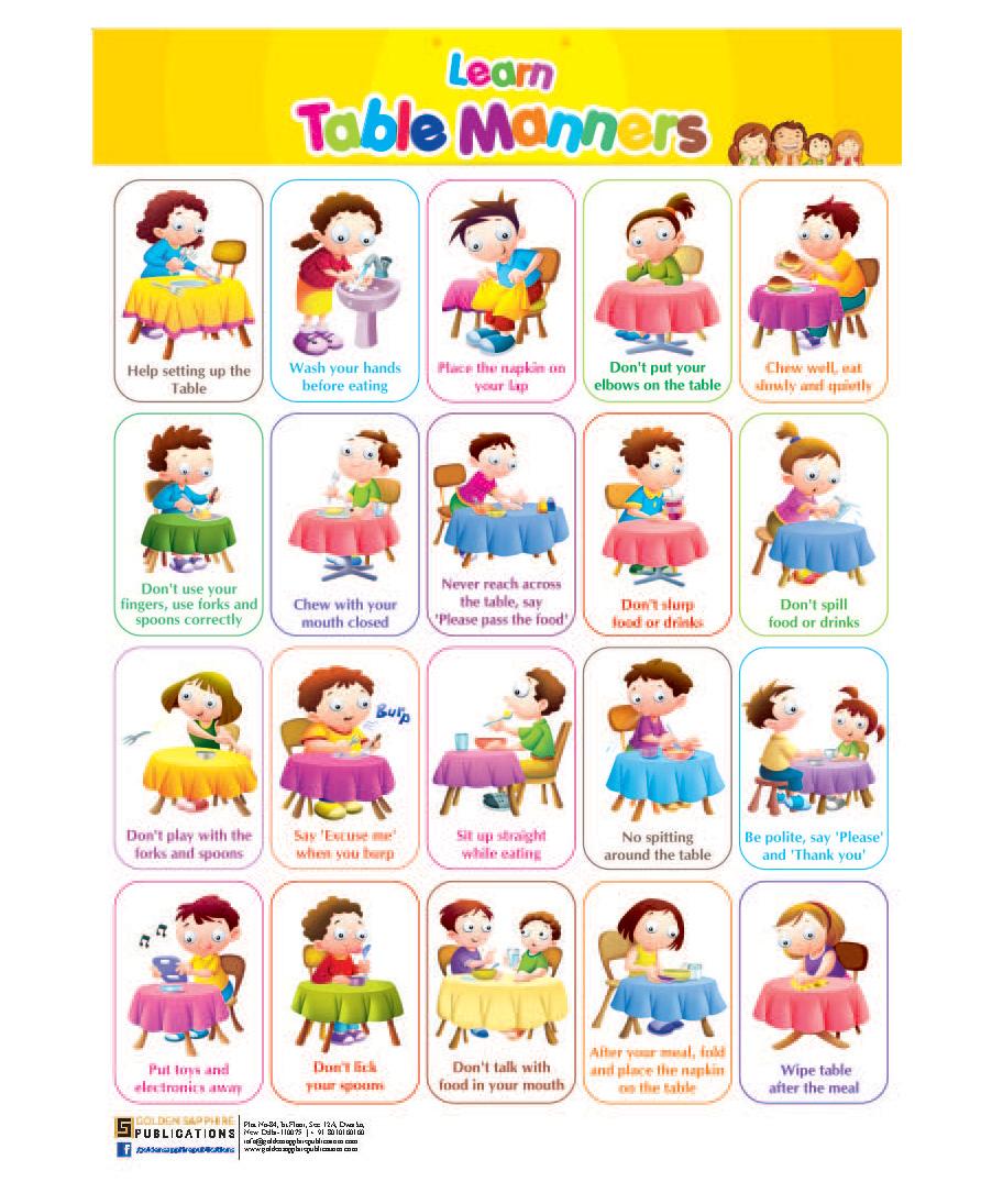 Good Manners Worksheets for Kindergarten - careless.me