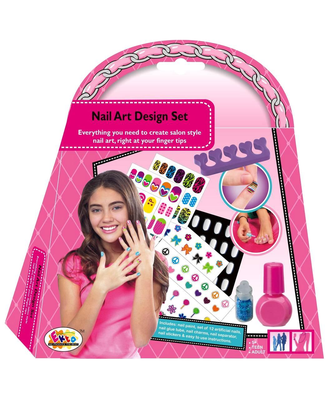 Ekta nail art design set for girls 5 13 years online in india ekta nail art design set small pack of 20924 per diaper prinsesfo Images