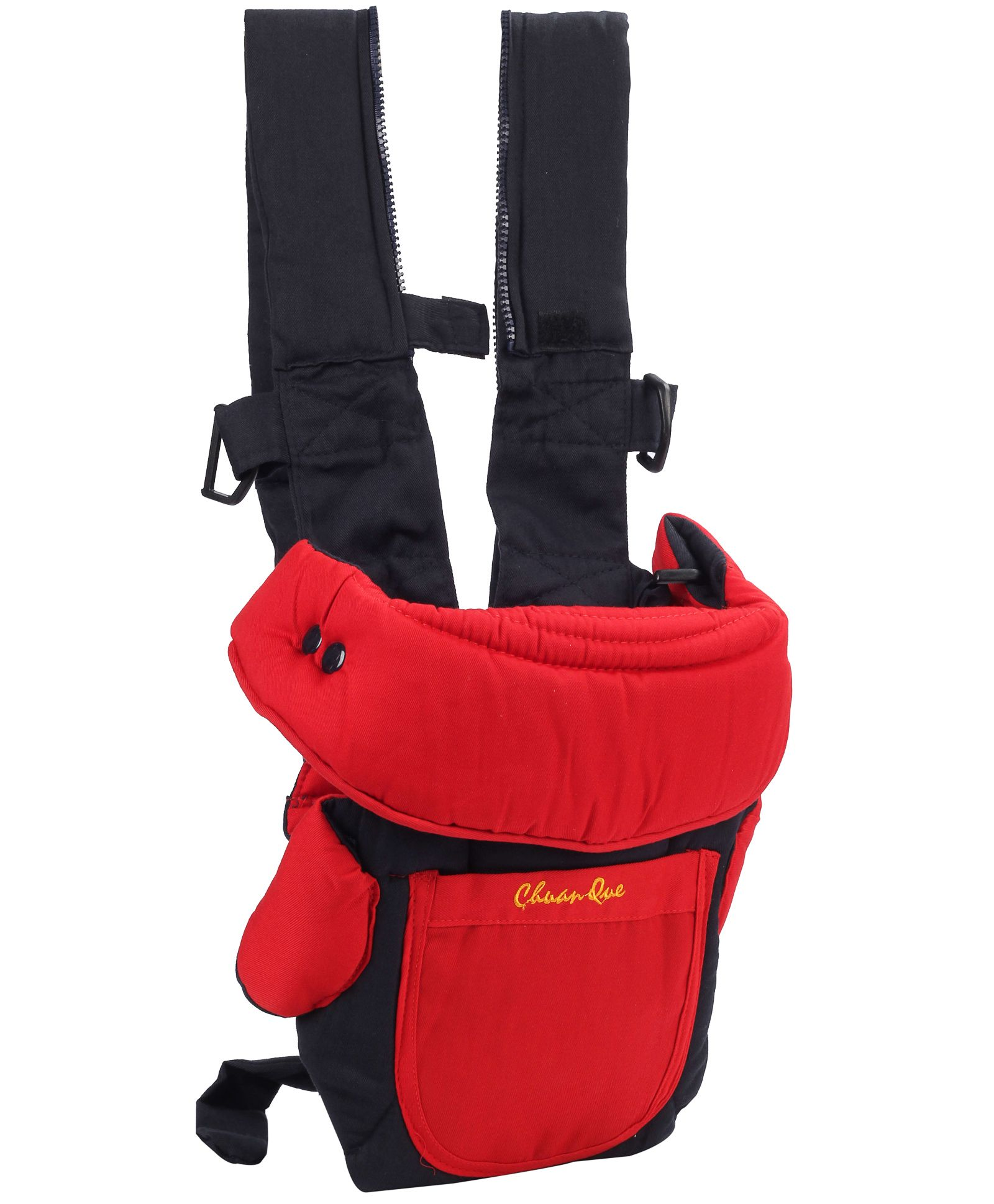 3 in 1 Soft Baby Carrier Red And Black - 3003