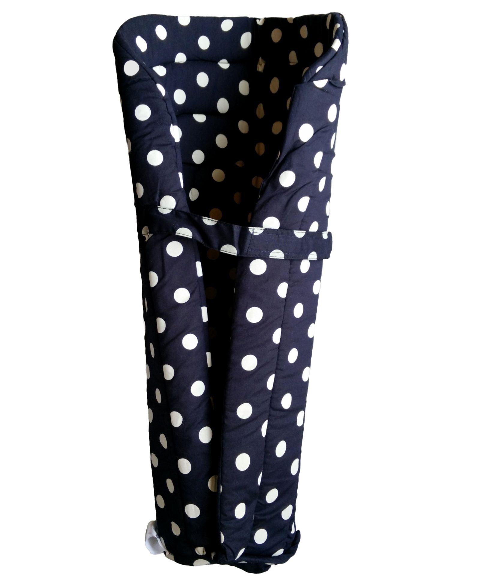Grandma's Baby Carrier Insert Polka Dots - Black