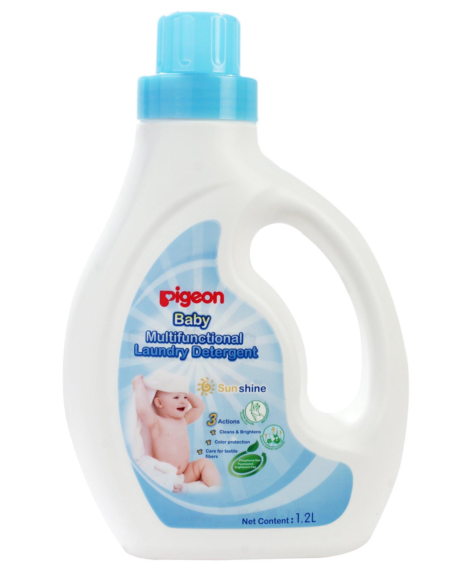 Pigeon Baby Multifunctional Laundry Detergent 1 2 Liter line in