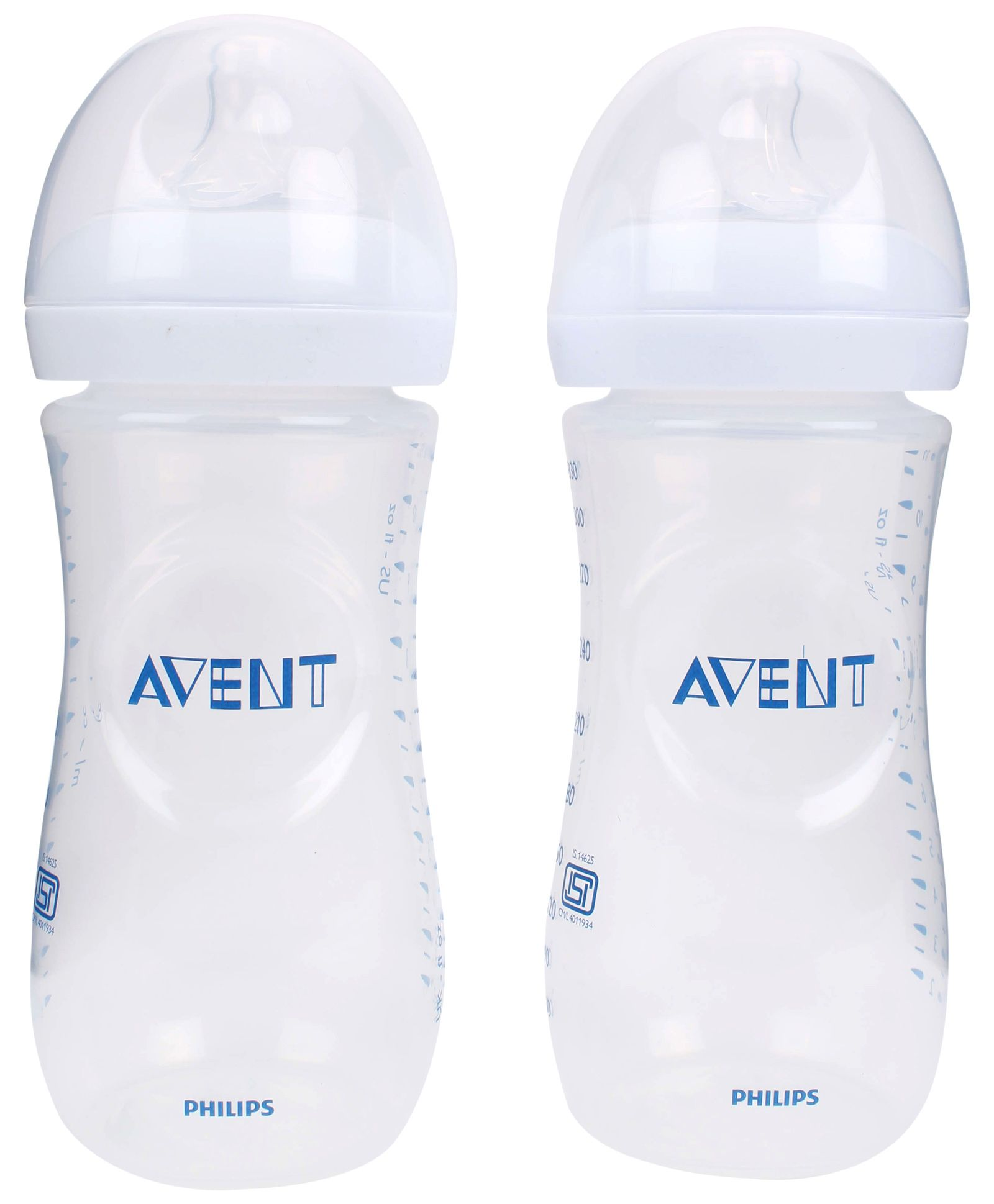 Avent Natural Polypropylene Baby Bottle Pack Of 2 330 Ml Online In Philips New Skin Soft Nipple Medium Flow 3m India Buy At Best Price From 601209