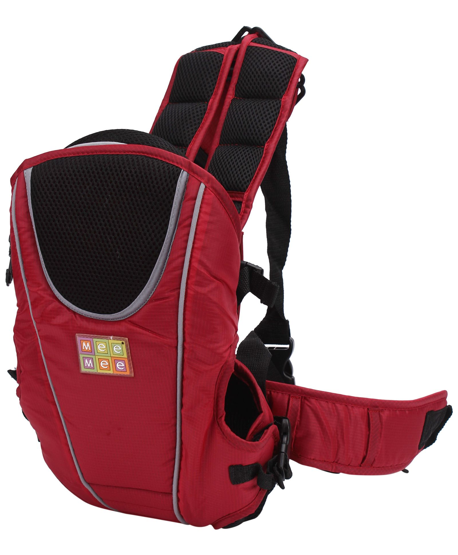 Mee Mee Soft & Premium Way Way Baby Carrier - Maroon
