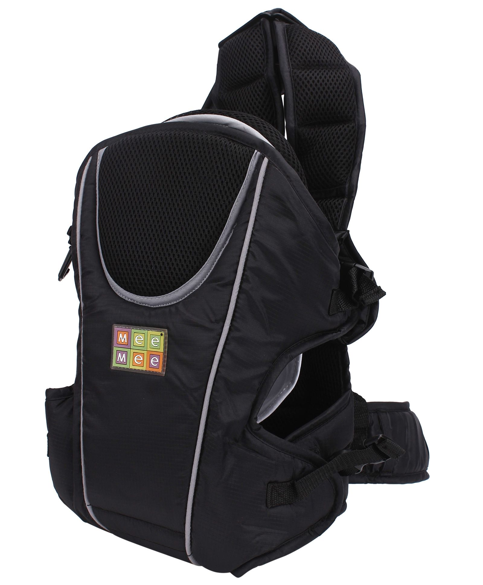 Mee Mee Soft & Premium 4 Way Baby Carrier - Black