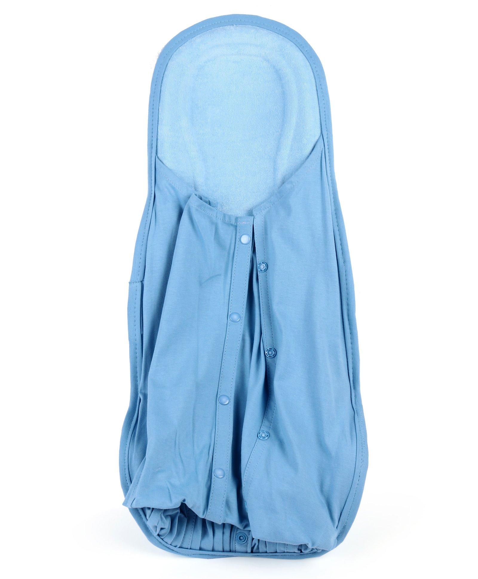 Baby Kare Hoopa Hooded Infant Carrier - Blue