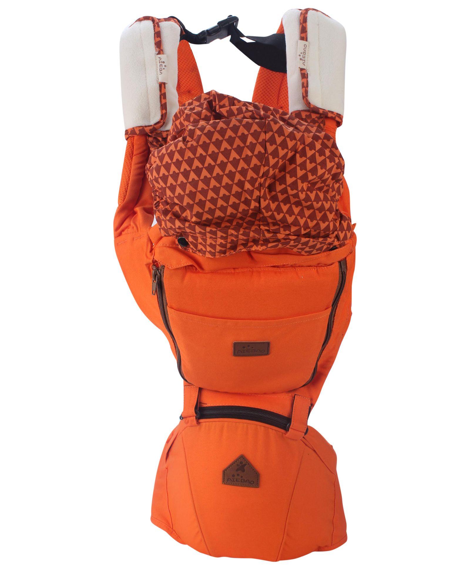 3 Way Baby Carrier - Orange