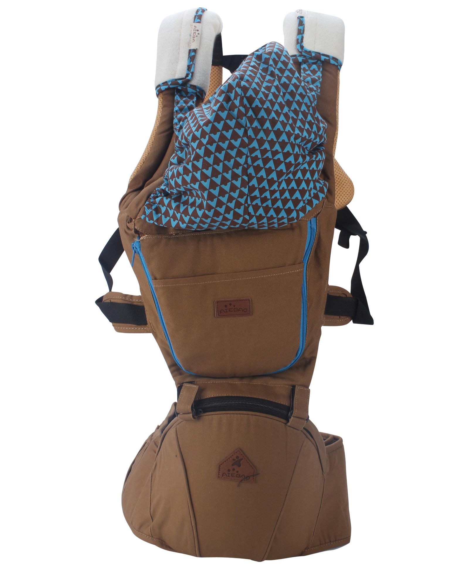 3 Way Baby Carrier - Brown