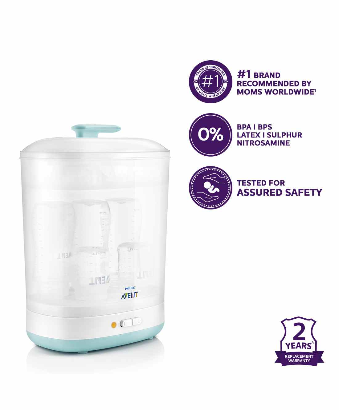 Avent 2 In 1 Electric Steam Slim Sterilizer Online India Buy At Philips New Natural Skin Soft Nipple Pack Medium Flow 3m Small Of 20924 Per Diaper