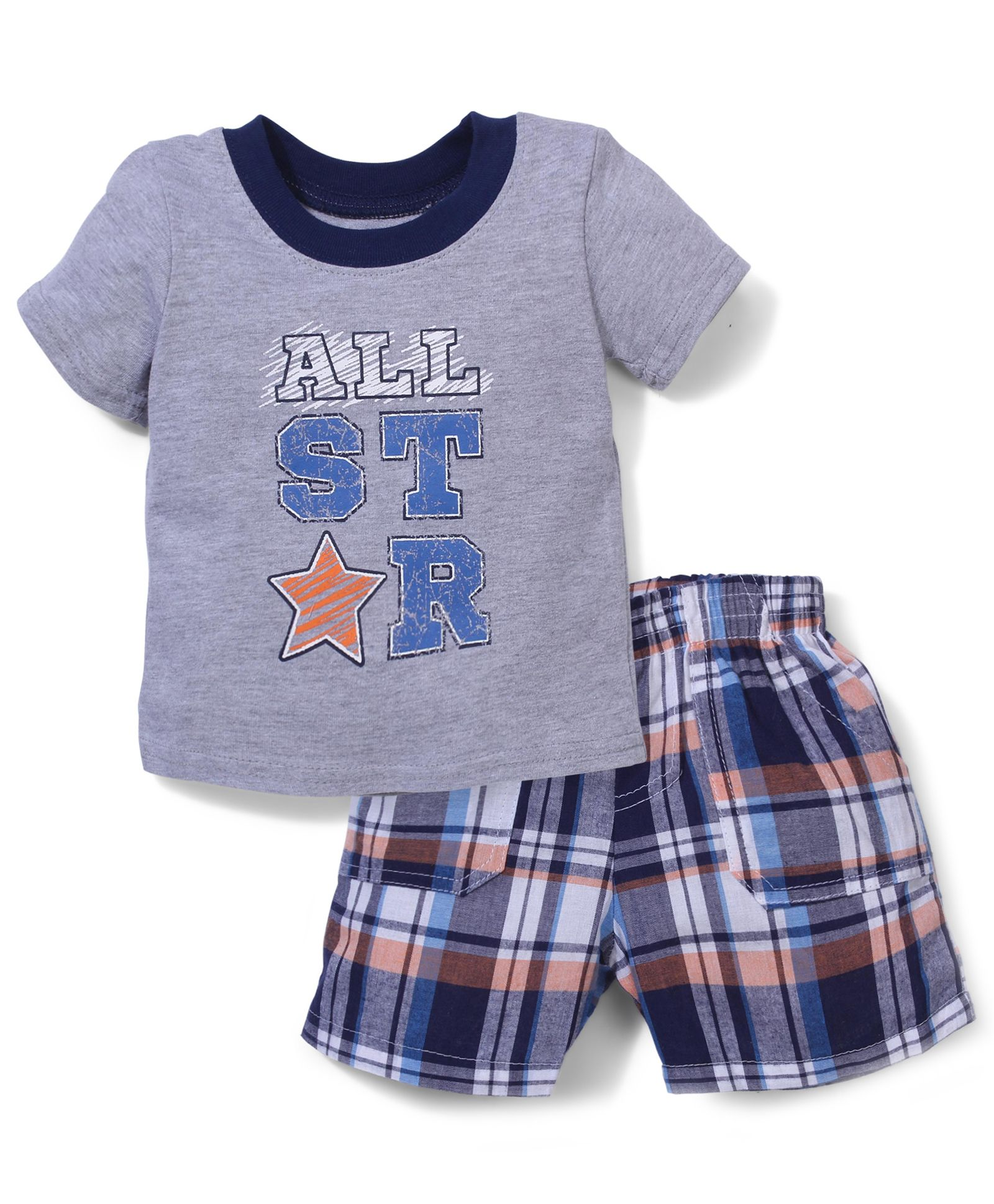 Buy Vitamins Baby All Star Print TShirt & Shorts Multicolor for Boys