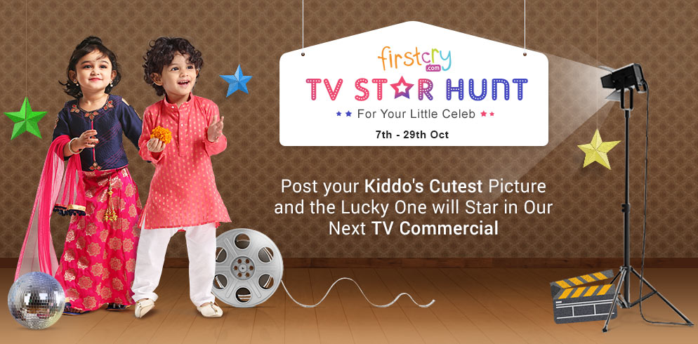 FirstCry TV Star Hunt - Baby & Kids Photo Contest India 2017
