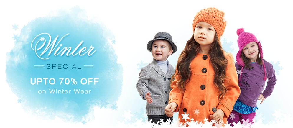 Kids Winter Wear, Winter Clothes for Babies, Boys & Girls Online India