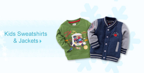 Kids Sweatshirts & Jackets