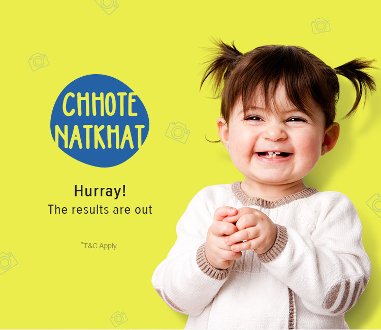 Chhote Natkhat Contest Winner