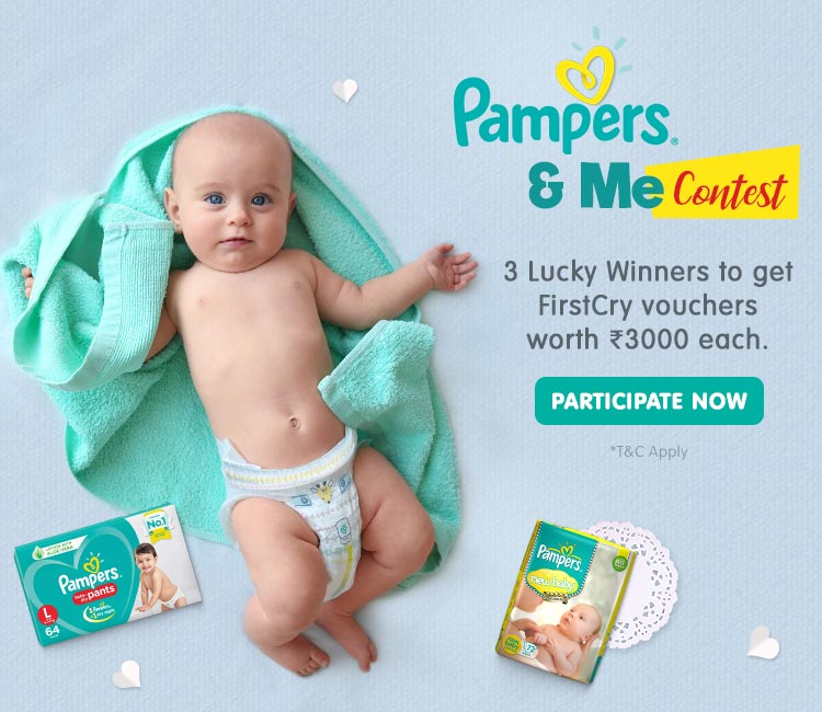Pampers & Me Contest