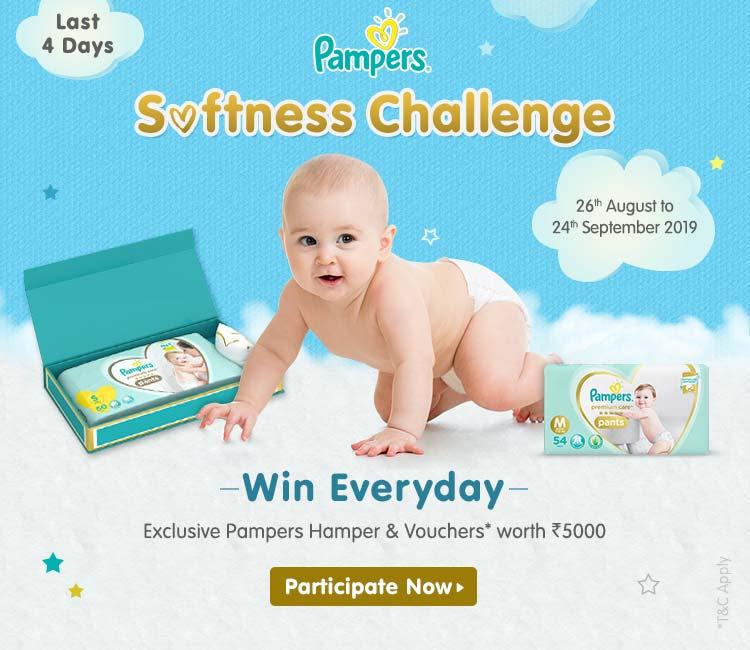 Pampers Softness Challenge