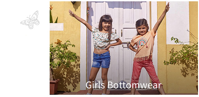 Girls Bottomwear