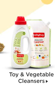 Toy & Vegetable Cleansers