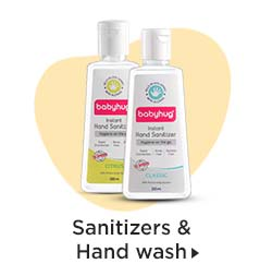Sanitizers & Hand wash