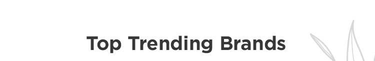 Top Trending Brands