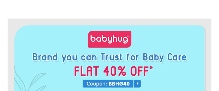 Babyhug Brand you can Trust for Baby Care Flat 40% OFF*