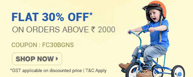 Flat 30% OFF* on Baby Gear & Nursery Range