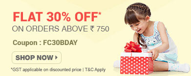 firstcry - 30% Off on Birthday and Gifts