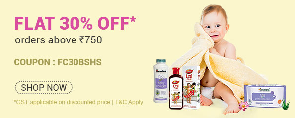 firstcry - Flat 30% off on Bath and Skin Care Products