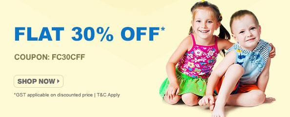 firstcry - Flat 30% Off on Kids Fashion