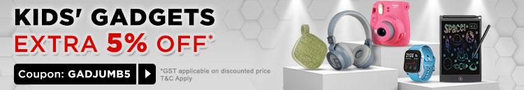 Jumbo Sale Extra 5% Off*