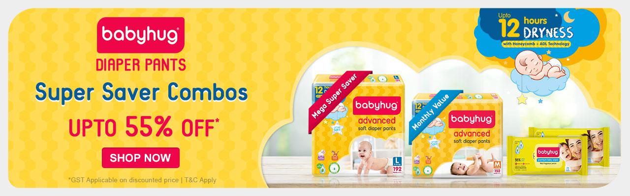 BabyHug Upto 55% Off