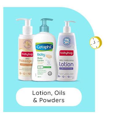 Lotion, Oils & Powders