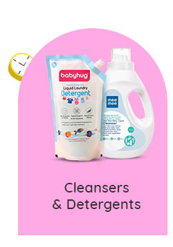 Cleansers & Detergents