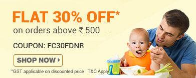 Flat 30% OFF* on Feeding & Nursing on orders above Rs. 500
