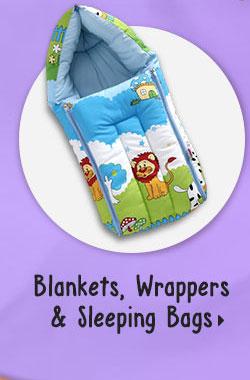 Blankets, Wrappers & Sleeping Bags