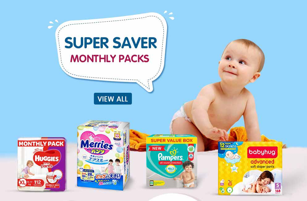 SUPER SAVER Monthly Pack