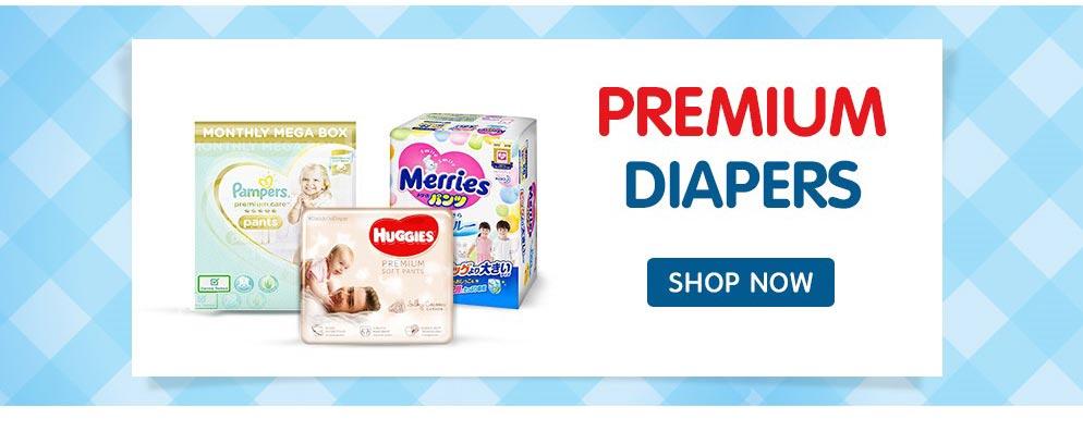 Premium Diapers