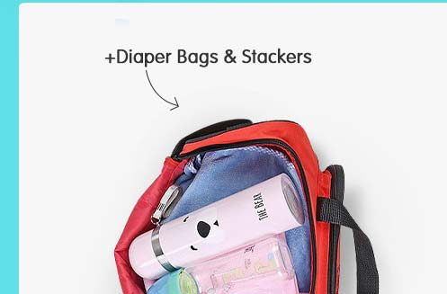 Diaper Bags & Stackers