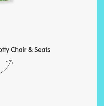 Potty Chair & Seats